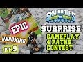 Surprise Epic Unboxing of Rubble Rouser pt.9 + Gameplay/All Paths/Contest (Skylanders Swap Force W3)