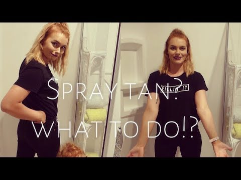 Maquiagem - WHAT TO DO: Before during and after a spray tan!!!  LivKelz