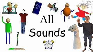 All Sounds | Gamefiles Decompiled (v1.3) | Baldi's Basics in Education and Learning