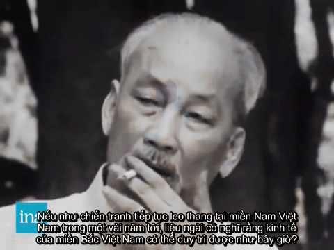 Phỏng vấn chủ tịch Hồ Chí Minh - Tháng 6/1964