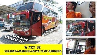 Video SPESIAL MUDIK LEBARAN - Bus PATAS BERKELAS??!! Trip PO SUGENG RAHAYU BANDUNG W 7321 UZ JB3 Hino RK8 MP3, 3GP, MP4, WEBM, AVI, FLV September 2018