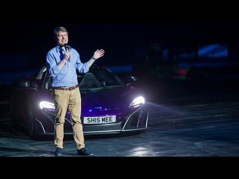 Driving My McLaren 675LT in a Live Show!