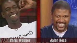 Jalen Rose Interviews Chris Webber Part 1
