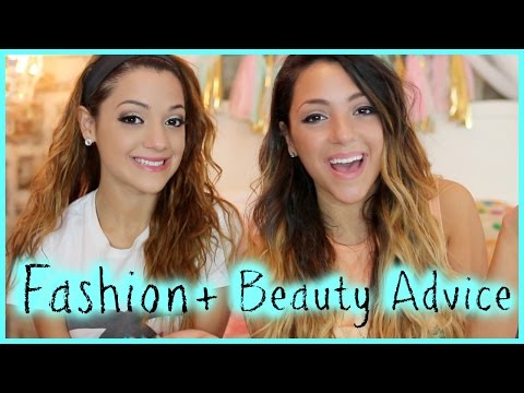Fashion - Funny Yoga Challenge - http://bit.ly/1kjQcOM Miranda's Makeup Tutorial - http://bit.ly/1rLFwef Back to school is coming up soon :( but Niki and Gabi have some awesome fashion and beauty tips...