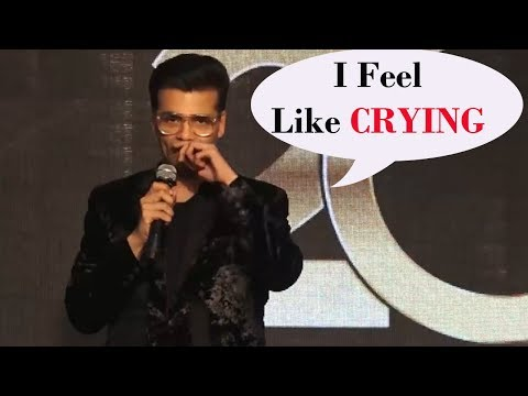 Karan Johar's EMOTIONAL REACTION On 20 Years Of 'K