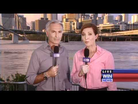 Nine News Anchor gets teary during live news broadcast