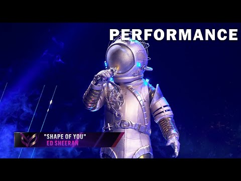 THE MASKED SINGER | Astronaut - Shape Of You