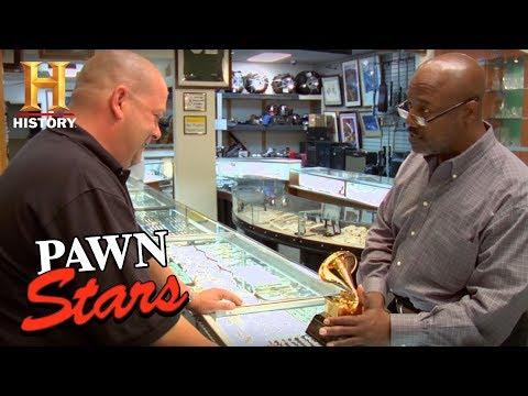 "Pawn Stars: Ronald Dunbar's Grammy Award for ""Patches"" (Season 2) | History"