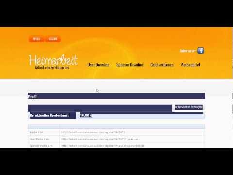 Online Geld verdienen 1932,36 Euro pro Monat Hammer
