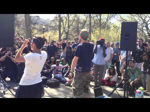 Dub FX -- Gingerbread Man - Tompkins Square Park (Live) - Alphabet City, New York - April 17th 2013