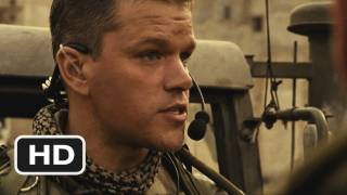 Green Zone #2 Movie CLIP - Game Face (2009) HD