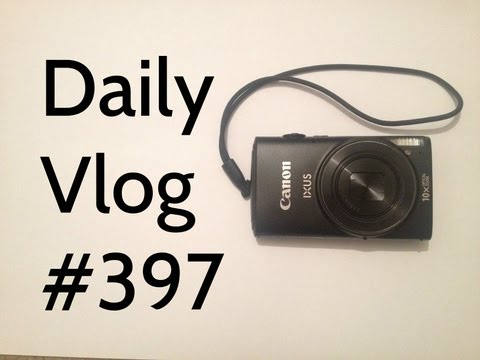 New Camera Canon IXUS 255 HS Unboxing & Testing | ItsJamieIRL | Daily Vlog #397