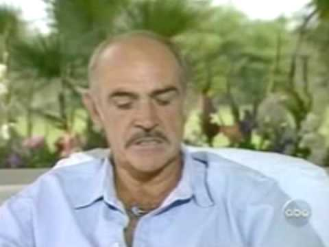 Sean Connery on slapping woman