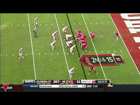 Jacoby Brissett vs Florida St. 2014 video.