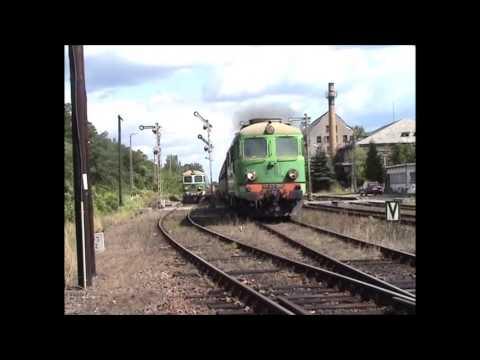 Gleise kaputt fahren in Gubin (видео)