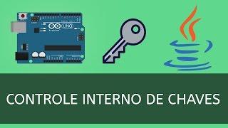 Projeto feito com Java e Arduino - Sistema de Controle Interno de Chaves.