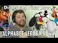 Disney and Pixar Raps Alphabet Aerobics