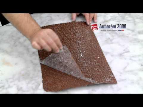 Folha de Textura para Chocolate - Trançado
