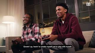Ja Morant Takes Playing NBA2K20 To A Whole New Level | Playing NBA 2K20 on Google Stadia