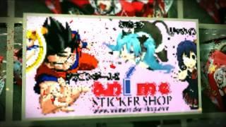 AnimeStickerShop Intro