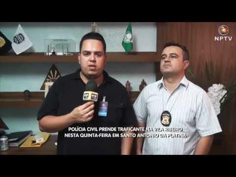 Traficante é preso pela Polícia Civil em Santo Antônio da Platina - 24/09/2015