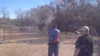 Ada (OK) United States  city pictures gallery : Feegee Matlock shooting USPSA in Ada Oklahoma