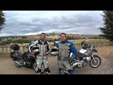 Nos presentamos en Ávila