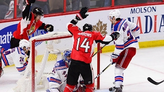 Derick Brassard scored late in the third period to force overtime where Kyle Turris won it for Ottawa. Senators now lead the series 3-2.