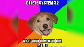 Video What Happens If You Delete System32? MP3, 3GP, MP4, WEBM, AVI, FLV Oktober 2018
