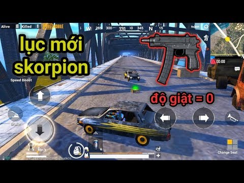 PUBG Mobile - Trải Nghiệm Skorpion - Uzi Phiên Bản Súng Lục | Sở Hữu Độ Giật Cực Thấp - Thời lượng: 15:36.