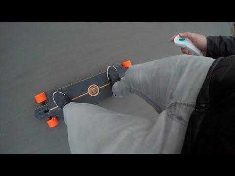 DIY Electric Longboard Speed Test (Sunset Ride)