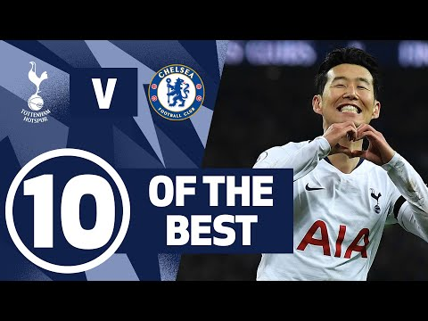 10 OF THE BEST | INCREDIBLE SPURS GOALS AGAINST CHELSEA