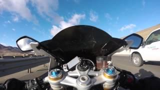7. Triumph Daytona 675R top speed run