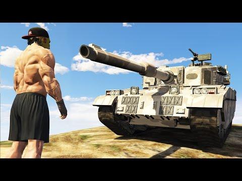 GTA 真。北斗爆奶拳!大戰軍事基地!