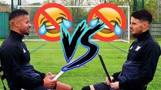 Video BILLY VS JEZZA | NO LAUGH CHALLENGE! MP3, 3GP, MP4, WEBM, AVI, FLV Oktober 2018