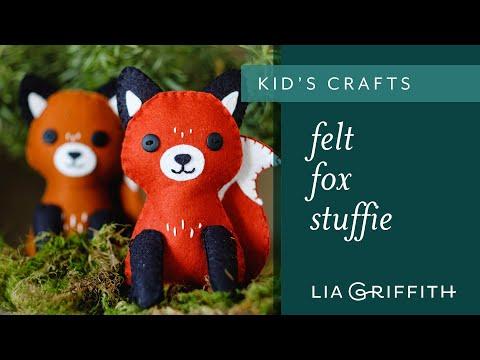 How To Make A Felt Fox Stuffie