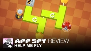 Help Me Fly iOS iPhone / iPad Gameplay Review - AppSpy.com