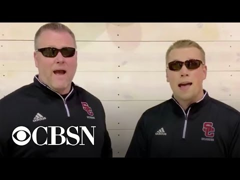 """School officials sing rendition of """"Hallelujah"""" to announce snow day in epic way"""