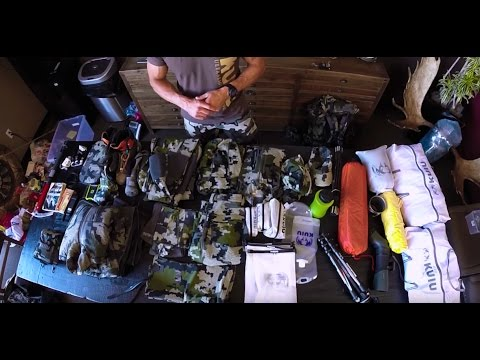 Sheep Hunting Pack List - Packing Clothes & Gear