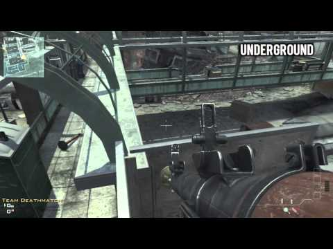 MW3 Glitches: *NEW* Best Infected Spots! (Underground, Fallen, Carbon)