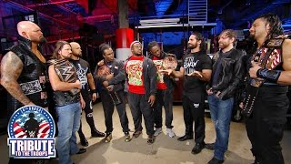 Nonton The New Day, The Club and The Shield stand face-to-to-face: Tribute to the Troops, Dec. 14, 2016 Film Subtitle Indonesia Streaming Movie Download