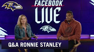 Q&A with Ronnie Stanley   Baltimore Ravens