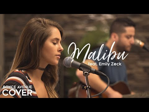Malibu Miley Cyrus Acoustic Cover [Feat. Emily Zeck]