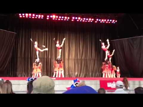 Bishop Allen Wonderland Cheerleading Comp 2013