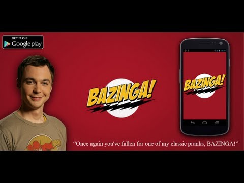 Video of BAZINGA! (+ Whip Crack & more)