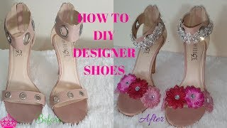 Hello love bugs, This short tutorial is going to show you how to DIY DESIGNER FLOWER SHOES. the process is super easy and ...