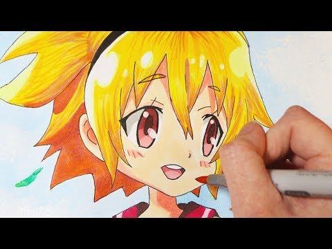 Speed Drawing: Day Break Illusion Akari Taiyo