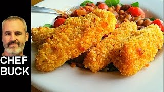 Try this very tasty baked chicken tenders recipe. Make oven-baked chicken tenders that you'll enjoy just as much as deep fried tenders, the trick is to add butter ...