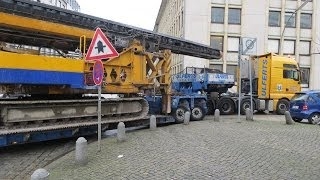 Download Lagu Schwertransport bleibt stecken / heavy haulage must stop - Soeren66 Mp3