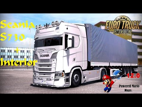Scania S730 2017 with Real Interior
